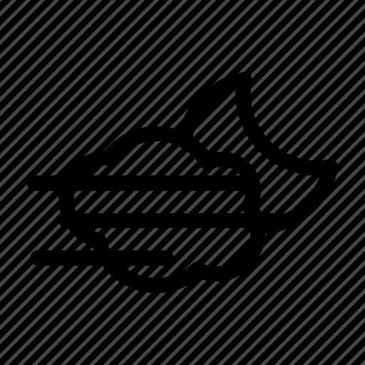 cescent, cloud, fog icon