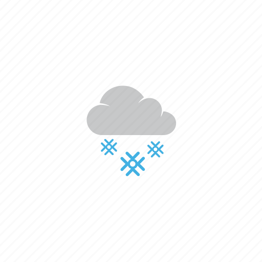 cloud, forecast, snow, snow fall, storm, stormy, weather icon