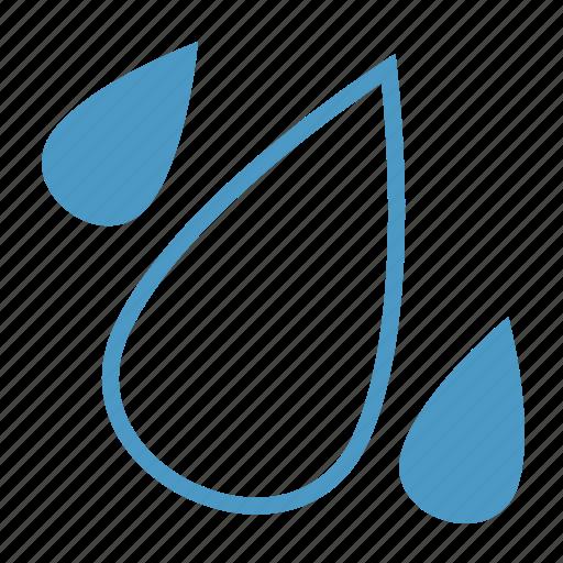 drops, heavy, rain, rainy icon