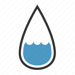 drop, humidity, medium, rain icon