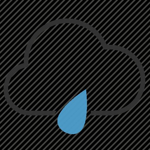 cloud, drop, rain, rainy icon