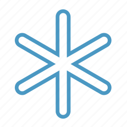 cold, frost, snow, snowflake icon