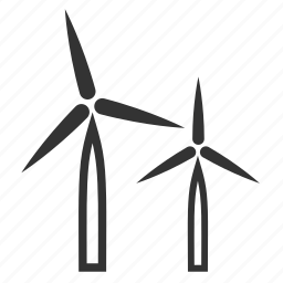 energy, pressure, wind, windmill, windy icon