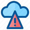 alert, climate, cloud, forecast, season, weather icon