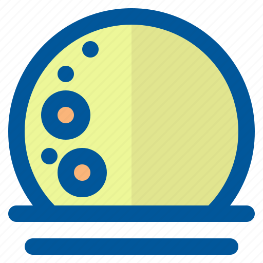 climate, forecast, full, moon, season, weather icon