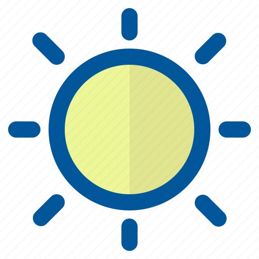 climate, forecast, season, sun, weather icon