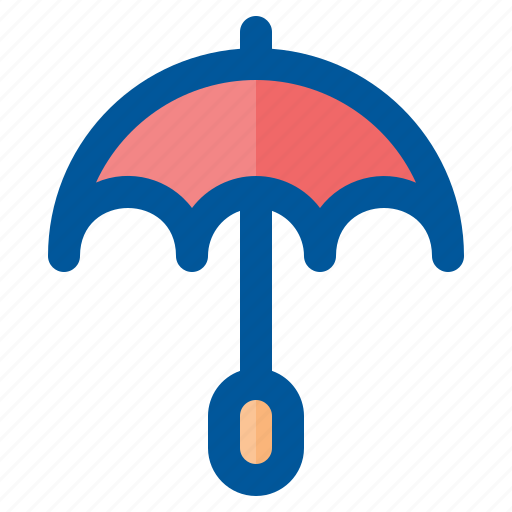 climate, forecast, season, umbrella, weather icon