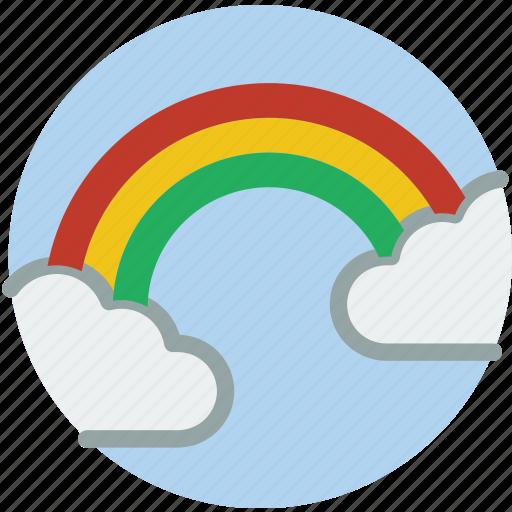 Rainbow, weather icon - Download on Iconfinder on Iconfinder