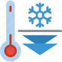 cold, temperature, weather icon