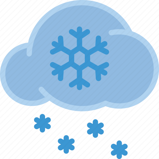 Cloud, ice, snow, storm, weather icon - Download on Iconfinder