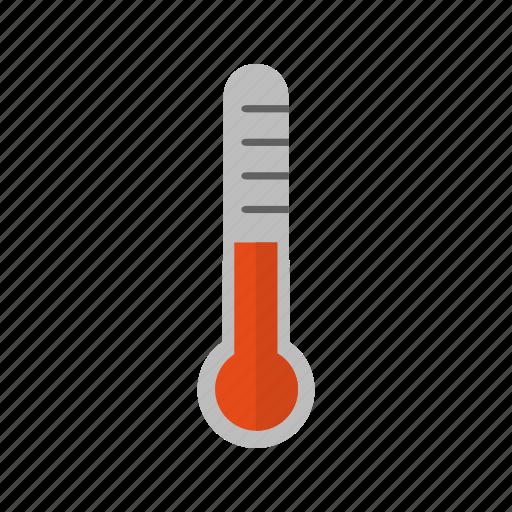 celsius, fever, forecast, temperature, thermometer icon