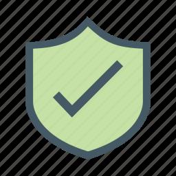 access, allow, proctection, sheild icon