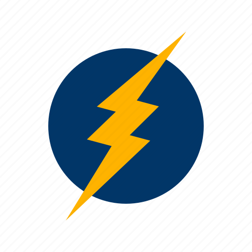 bolt, electric shock, electricity, lightning icon