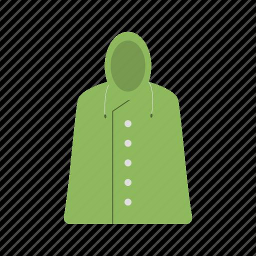 coat, jacket, long coat, rain icon