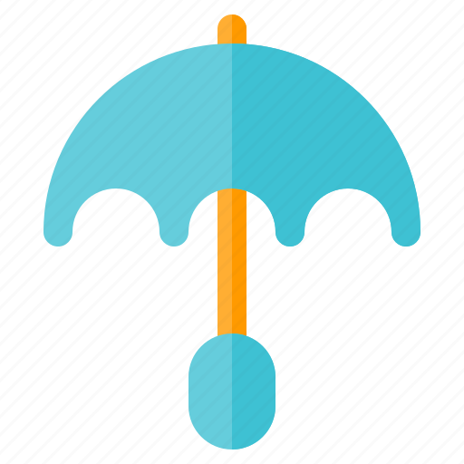 climate, forecast, season, umbrella, weather icon
