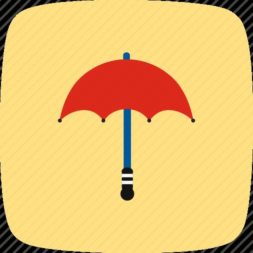 insurance, protection, rain, umbrella icon