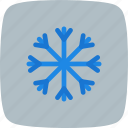 freezing, snow, snow fall, snow flake icon