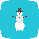 snow, snow man, snowman, winter icon