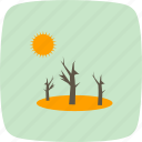 drought, nature, soil, spring, sprout icon