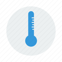 heat, measure, thermometer icon