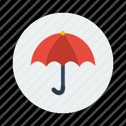 insurance, protection, rain, rainy, umbrella, weather icon