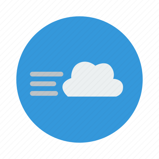 cloud, cloudy, weather, wind, windy icon
