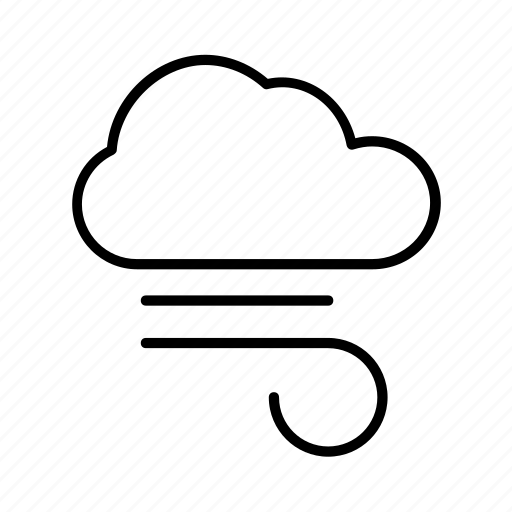 climate, cloud, forecast, meteorology, nature, weather, wind icon