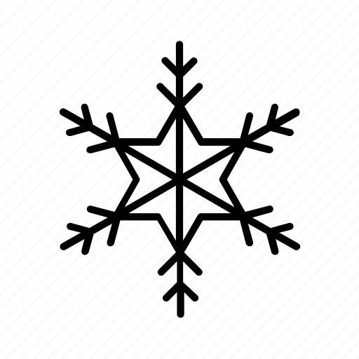 climate, forecast, meteorology, nature, snow, snowflake, weather icon