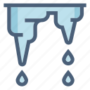 drops, forecast, melt, melting, spring, warming, weather icon