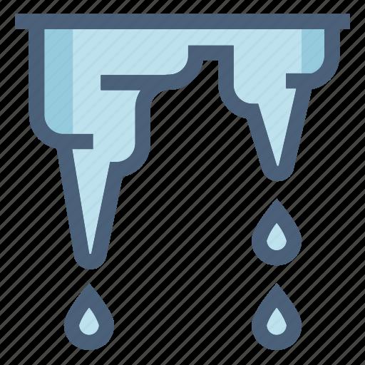drops, forecast, melt, melting, spring, warming, weather icon