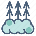 fog, foggy, forecast, mist, visibility, warning, weather icon