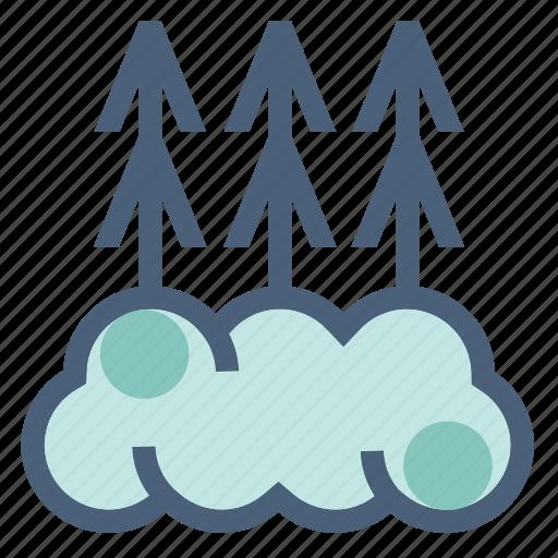 fog, foggy, forecast, mist, visibility, warning, weather icon