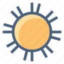 forecast, hot, summer, sun, sunny, vacation, weather icon