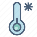 cold, forecast, freezing, snowflake, temperature, weather, winter icon