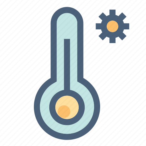 forecast, hot, summer, sun, temperature, warm, weather icon