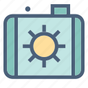 camera, forecast, geography, meteorology, monitor, photography, weather icon