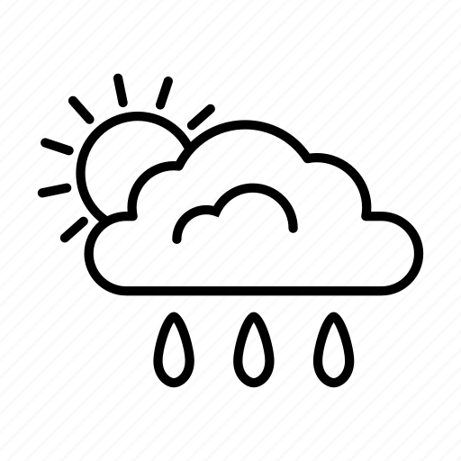 Climate, cloudy, forecast, rain, rainy, sunny, weather icon - Download on Iconfinder