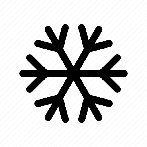 cold, cool, flake, snow, snowflake, weather, winter icon
