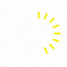 forecast, snow, snowflake, sun, weather icon