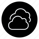 climate, cloud, clouds, forecast, meteo, meteorology, weather icon