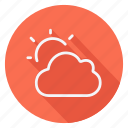 climate, cloud, forecast, meteorology, weather, clouds, sun
