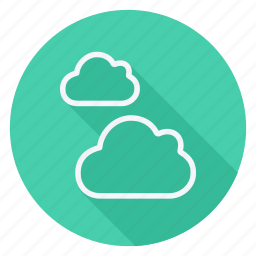 climate, cloud, clouds, cloudy, forecast, sun, weather icon