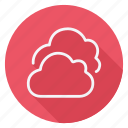 climate, cloud, clouds, forecast, meteorology, storm, weather icon
