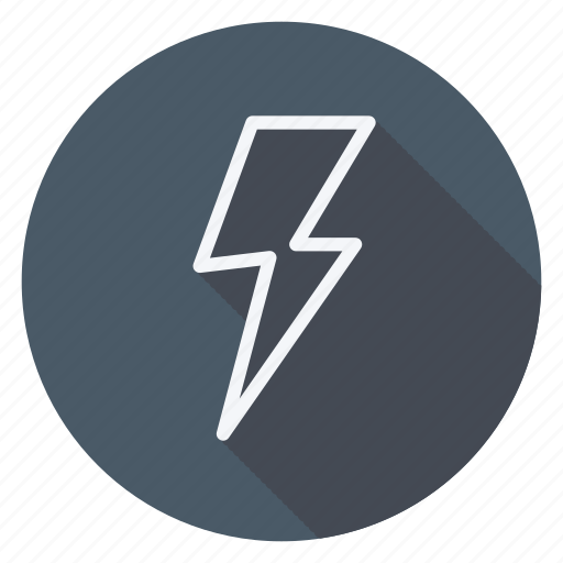 bolt, climate, cloud, forecast, meteorology, thunderbolt, weather icon
