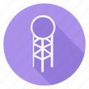 climate, cloud, forecast, meteo, meteorology, tower, weather icon
