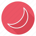 climate, cloud, forecast, meteo, meteorology, moon, weather icon