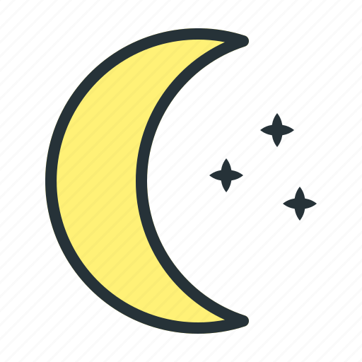 Forecast, moon, stars, weather icon - Download on Iconfinder