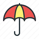forecast, umbrella, weather icon