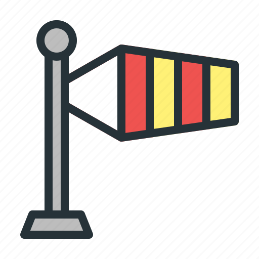 Forecast, weather, wind, windsock icon - Download on Iconfinder