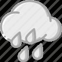 cloud, rain, weather